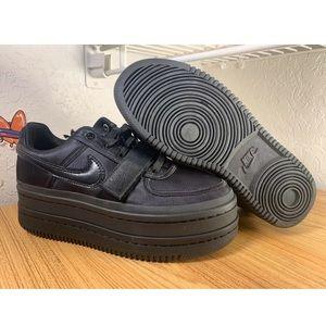 Nike Vandal 2K Triple Black Platform Shoes